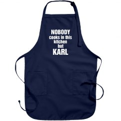 Karl is the cook!