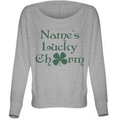 Custom Name St Pattys Long Shirt