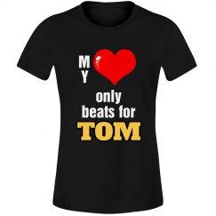 Heart beats for Tom