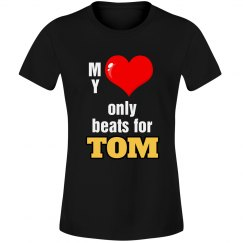 Heart beats for Tom