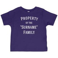 Family tee shirt