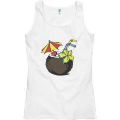 Coconut Cocktail Tank Top