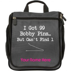 I got 99 Bobby Pins But Can't Find 1 travel hair bag