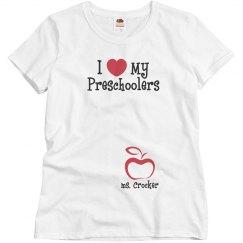 I love my Preschoolers