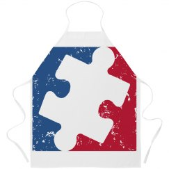 Distressed Major League AUTISM Apron