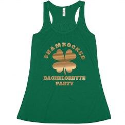 Shiny Shamrock Bachelorette