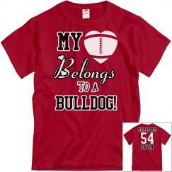 My heart belongs to a Bulldog