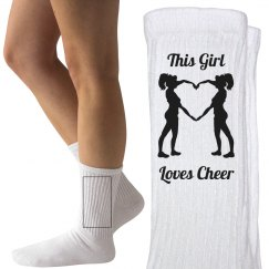 This girl loves cheer