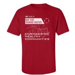 2017 MYTI Mens T-shirt - Red