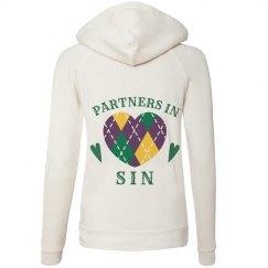 Mardi Gras Partners In Sin Hoodie 2
