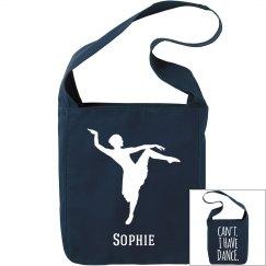 Sophie. Ballet bag