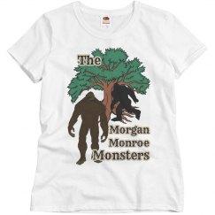 Indiana Bigfoot: Morgan Monroe Monsters Ladies Tee
