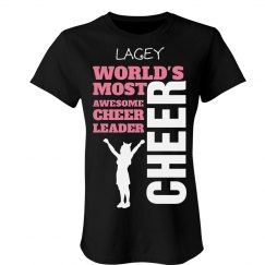 Lacey. Awesome cheerleader