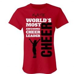 Katie. Awesome cheerleader