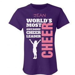 Jean. Awesome cheerleader