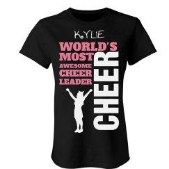 Kylie. Awesome cheerleader