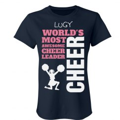 Lucy. Cheerleader