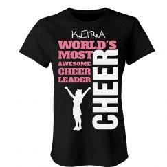 Keira. Cheerleader