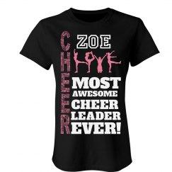 Zoe. Cheer