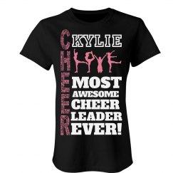 Kylie. Cheer