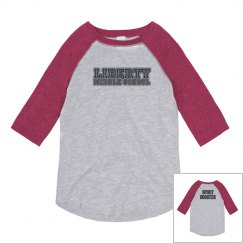 Retro Raglan Liberty MS Spirit Booster Shirt