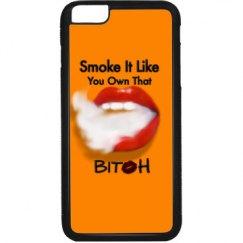 Mouth Smoke Vape Art iPhone Case
