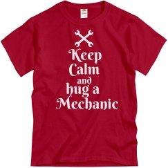 Hug a mechanic