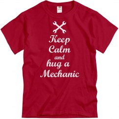 Hug a mechanic