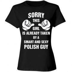 This girl taken by a smart and sexy polish guy