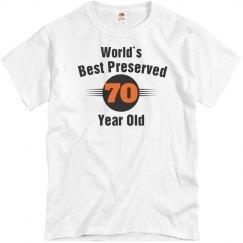 Best preserved 70 yr old