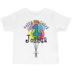 1 year old! Joshua