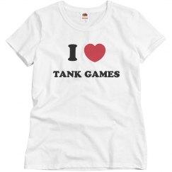 I love Tank Games