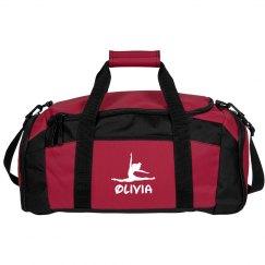 Olivia gymnastics bag