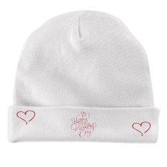 Infant Valentine Cap