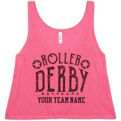 Customizable Roller Derby Crop