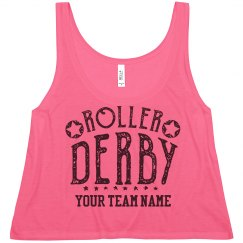 Customizable Roller Derby Crop