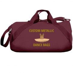 Custom Metallic Dance Bags