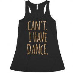 Sorry Can't I Have Dance