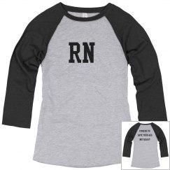 RN baseball T