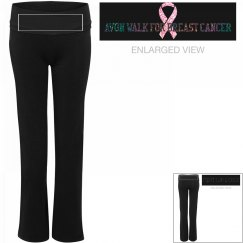 Avon breast cancer support yoga pants