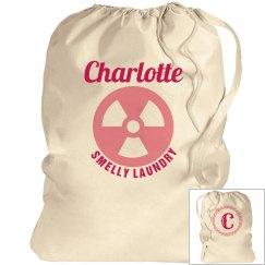 CHARLOTTE. Laundry bag