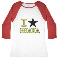 I Heart Ghana B. Star Tee