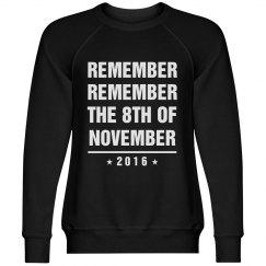 Remember The 8th Of November Black