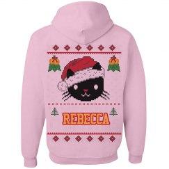 Meowy Christmas Hoodies