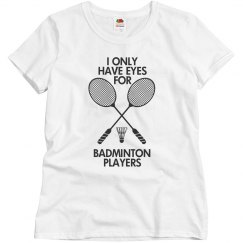 Eye for Badminton Player