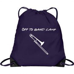 Purple band bag