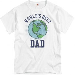 World's Best Dad Earth