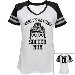 Amazing soccer mom!