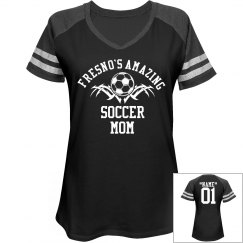 Fresno. Soccer mom