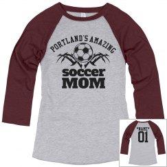Portland. Soccer mom